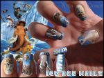 Ice Age nails by Ninails