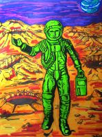 Martian by happymouse666