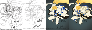 Xrd Kiske Step-by-Step by HeavyMetalHanzo