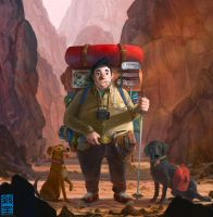 The Backpacker by JoshHutchinson