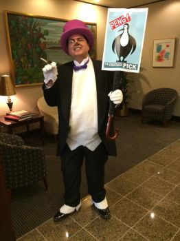 Hizzonor! The Penguin!! by JSA-1963