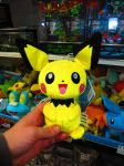 New Tomy Pichu Plush! by ryanthescooterguy