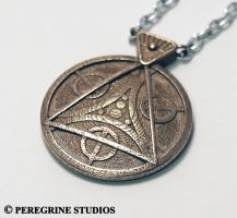 Amulet of Julianos (Stainless Steel) by PeregrineStudios