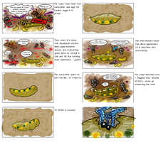 Bug Life Storyboards 2 by Kafae-Latte