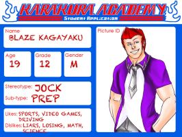 Karakura Academy -application- by BrandonCooper