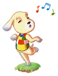 Daisy - Animal Crossing request by Chirko