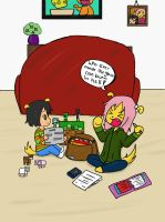 Homework Trouble by Shellybelly95