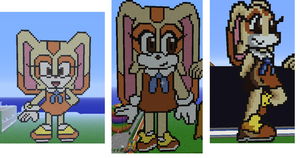 Cream Before And After Pixel Arts by sheezy93