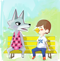 Animal Crossing by Zureev