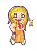 Unreleased Monster Ball Chibi 8 by GAGAISMYSOUL