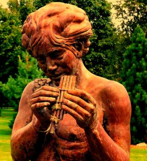 Pan with Flute