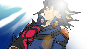Yusei in Tag Force 4 2 by BlueYusei