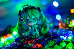 Dancing With The Bokeh by KuroDot