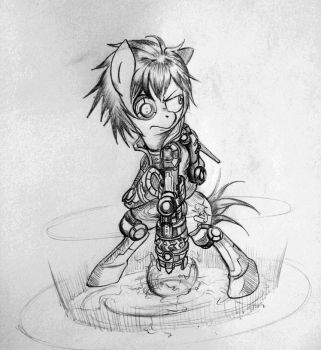 League of Ponies: Ezreal by Discommunicator