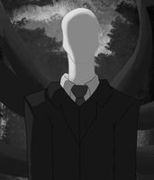 Slenderman by Dragonnerd445