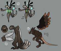 Designs for Khyros by TheseWeirdFishes