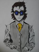 Dr Fredrick Vaughn (before going mad) by TSUjibbs