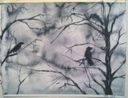Little Crows by yessica83