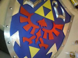 LoZ: OoT Hylian Shield by RMBAS12