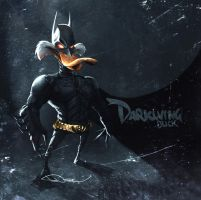 DarkKnightDuck by tooDeee