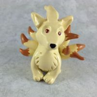 Ninetales Sculpture by LeiliaClay