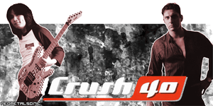 Crush 40 sig. banner by NeoMetalSonic