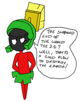 Marvin and the end of the world by Aso-Designer