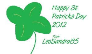 Happy St Patricks Day! 2012 by LeoSandra85
