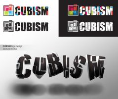 Cubism logo design by darkman4e