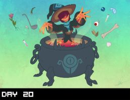 October 2015 Design Challenge: DAY 20 by Lanmana