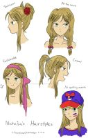 Natasha's Hairstyles by CheerySoundNinRoren