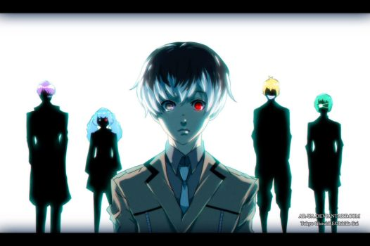 Tokyo Ghoul:RE: Quinx Squad by AR-UA