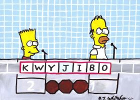 The Simpsons on Scrabble by DJgames