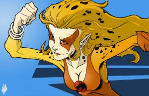 Cheetara by teamlattie