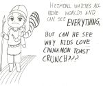 Heimdall can see why Kids love... by DaggerRavionFall