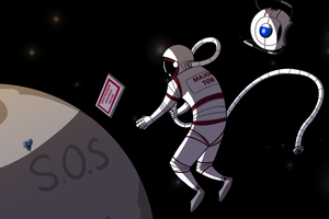 In space nobody can see your terrible drawings. by MikeTheUser