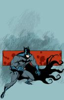 Batman by DerecDonovan