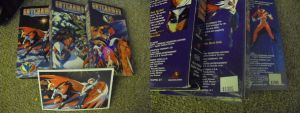 FOR SALE Old school Anime VHS Gatchaman by SailorUsagiChan