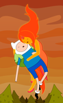 Finn and The Flame Princess by janelvalle