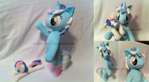 Lyra loves her BonBon plush! by PlanetPlush