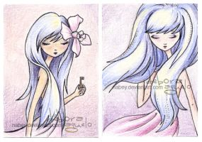 ACEO cards - III by nabey