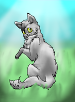 Myari the Kitty by TheDragonInTheCenter