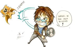 fan art Antoine-Daniel by Cannelle-dessins