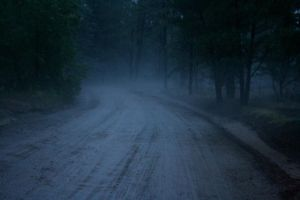 Rainy Road by EisenFeuer