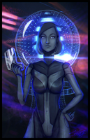 Mass Effect EDI by shallete