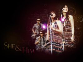 She and Him by pamcoutinho