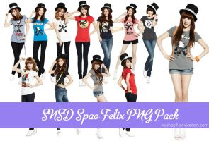 SNSD Spao Felix PNG Pack by VieshaELF