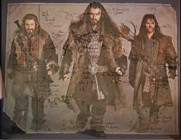 Fili, Thorin, Kili by Symbelmine21