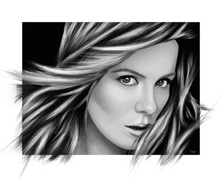 Kate Beckinsale by ChewedKandi