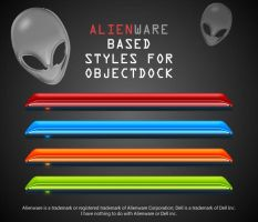 Alienware styles for Objectdock by frmesogiakos